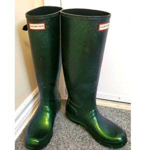 Hunter wellington boots